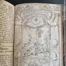 Libros antiguos: LIBRO JUDÍO ALEMÁN SIGLO XVIII GÓTICO, GRABADOS, - JOHANN FRIEDRICH GRABNER. Lote 262053815