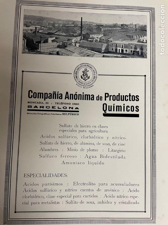 Libros antiguos: INTERESANTE LIBRO DE BARCELONA - AÑO 1928 - ANUARIO DE LA CIUDAD (SYNDICAT DINITIATIVE) - Foto 5 - 262113395