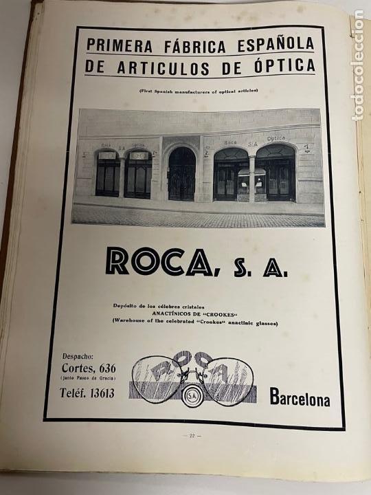 Libros antiguos: INTERESANTE LIBRO DE BARCELONA - AÑO 1928 - ANUARIO DE LA CIUDAD (SYNDICAT DINITIATIVE) - Foto 7 - 262113395