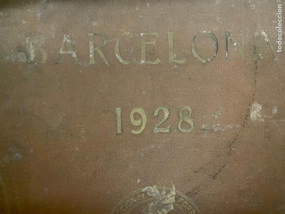 Libros antiguos: INTERESANTE LIBRO DE BARCELONA - AÑO 1928 - ANUARIO DE LA CIUDAD (SYNDICAT DINITIATIVE) - Foto 2 - 262113395