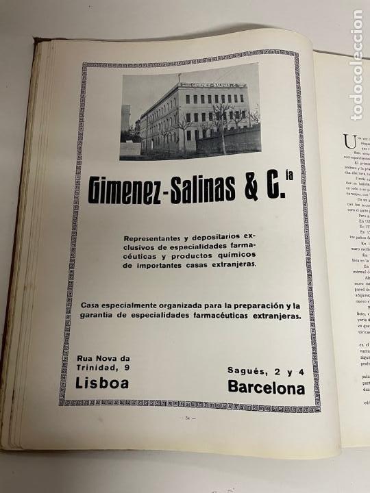 Libros antiguos: INTERESANTE LIBRO DE BARCELONA - AÑO 1928 - ANUARIO DE LA CIUDAD (SYNDICAT DINITIATIVE) - Foto 12 - 262113395