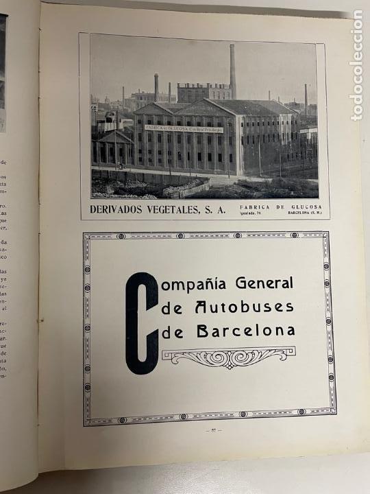 Libros antiguos: INTERESANTE LIBRO DE BARCELONA - AÑO 1928 - ANUARIO DE LA CIUDAD (SYNDICAT DINITIATIVE) - Foto 13 - 262113395