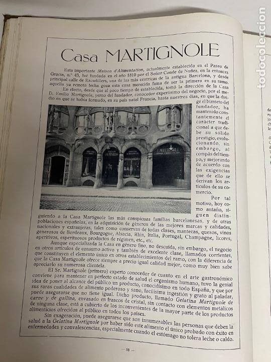 Libros antiguos: INTERESANTE LIBRO DE BARCELONA - AÑO 1928 - ANUARIO DE LA CIUDAD (SYNDICAT DINITIATIVE) - Foto 14 - 262113395