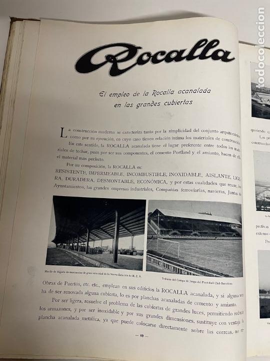 Libros antiguos: INTERESANTE LIBRO DE BARCELONA - AÑO 1928 - ANUARIO DE LA CIUDAD (SYNDICAT DINITIATIVE) - Foto 15 - 262113395