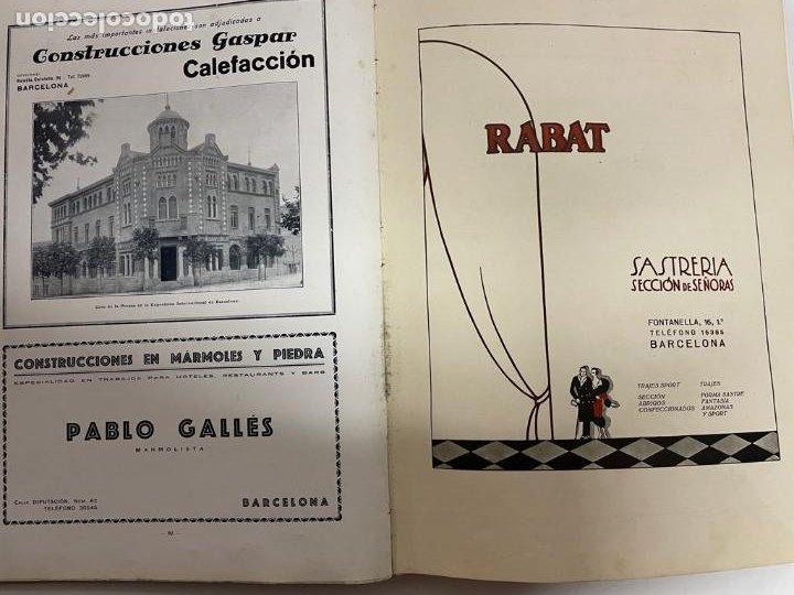 Libros antiguos: INTERESANTE LIBRO DE BARCELONA - AÑO 1928 - ANUARIO DE LA CIUDAD (SYNDICAT DINITIATIVE) - Foto 16 - 262113395