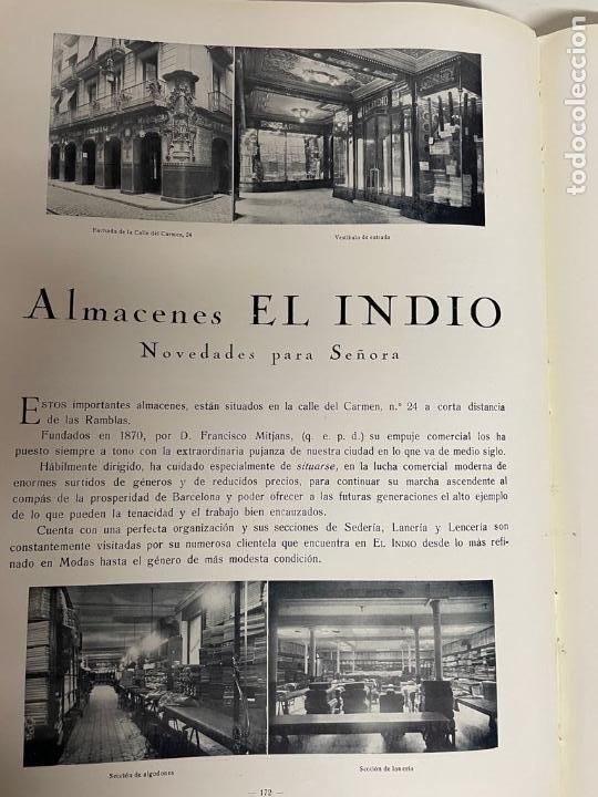 Libros antiguos: INTERESANTE LIBRO DE BARCELONA - AÑO 1928 - ANUARIO DE LA CIUDAD (SYNDICAT DINITIATIVE) - Foto 18 - 262113395