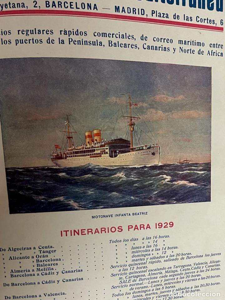 Libros antiguos: INTERESANTE LIBRO DE BARCELONA - AÑO 1928 - ANUARIO DE LA CIUDAD (SYNDICAT DINITIATIVE) - Foto 22 - 262113395
