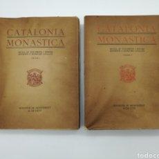 Libros antiguos: CATALONIA MONÀSTICA 1927. Lote 262967045