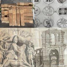 Libros antiguos: 1770 LOTE DE 16 LIBROS DE HISTORIA ANTIGUA - GRABADOS - ROMA - MEMOIRES DE L'ACADEMIE ROYALE. Lote 263006970