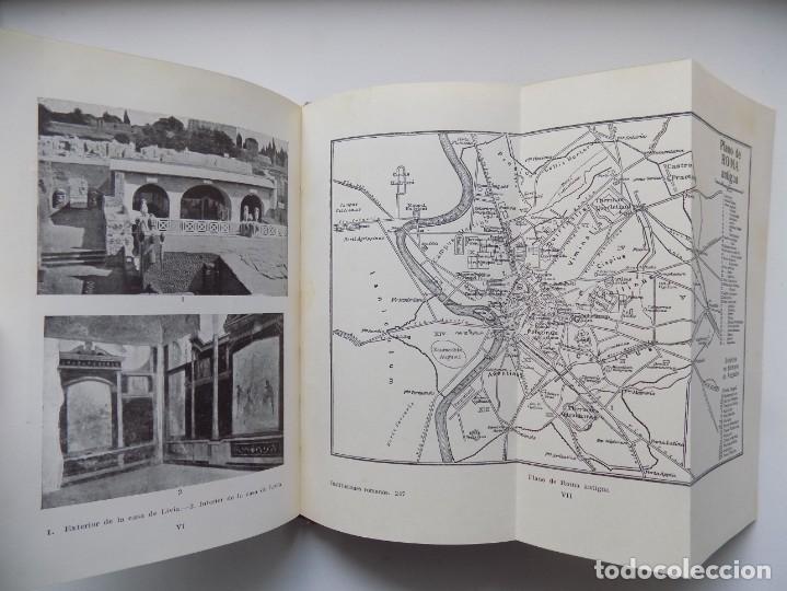 Libros antiguos: LIBRERIA GHOTICA. LEO BLOCH. INSTITUCIONES ROMANAS. EDITORIAL LABOR 1930. MUY ILUSTRADO. - Foto 2 - 263033660