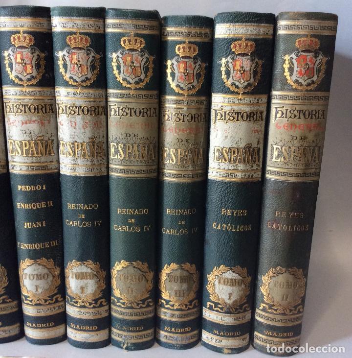Libros antiguos: HISTORIA GENERAL D ESPAÑA EXCMO.SR.D.ANTONIO CÁNOVAS DEL CASTILLO CÁNOVAS DEL CASTILLO, Antonio  - Foto 3 - 263565045
