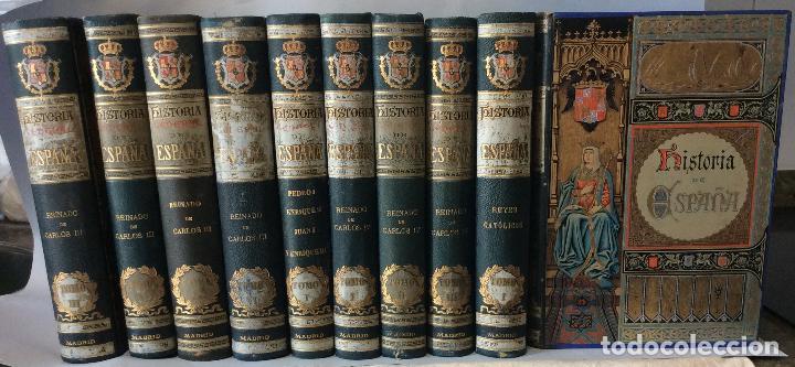 HISTORIA GENERAL D ESPAÑA EXCMO.SR.D.ANTONIO CÁNOVAS DEL CASTILLO CÁNOVAS DEL CASTILLO, ANTONIO  (Libros antiguos (hasta 1936), raros y curiosos - Historia Antigua)