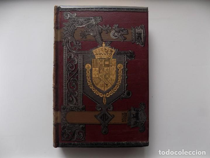 LIBRERIA GHOTICA. LUJOSA EDICIÓN DE LAFUENTE.HISTORIA DE ESPAÑA.1890.MONTANER Y SIMON. XXIV.GRABADOS (Libros antiguos (hasta 1936), raros y curiosos - Historia Antigua)
