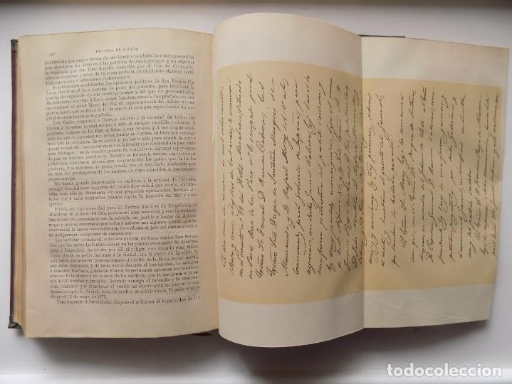 Libros antiguos: LIBRERIA GHOTICA. LUJOSA EDICIÓN DE LAFUENTE.HISTORIA DE ESPAÑA.1890.MONTANER Y SIMON. XXIV.GRABADOS - Foto 5 - 263694145