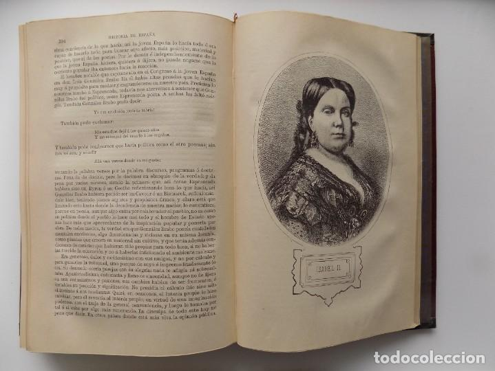 Libros antiguos: LIBRERIA GHOTICA. LUJOSA EDICIÓN DE LAFUENTE.HISTORIA DE ESPAÑA.1890.MONTANER Y SIMON. XXII.GRABADOS - Foto 6 - 264456249