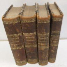 Libros antiguos: LAS POESIAS DE HORACIO TRADUCIDAS EN VERSOS CASTELLANOS JAVIER DE BURGOS 1820 4 TOMOS OBRA COMPLETA. Lote 264544364