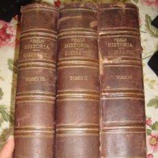 Libros antiguos: HISTORIA DE LA GUERRA CIVIL PARTIDO LIBERAL Y CARLISTA POR ANTONIO PIRALA 1889. Lote 264803584