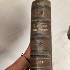 Libri antichi: LIBRO DE 1900,ALREDEDOR DEL MUNDO!. Lote 266157033