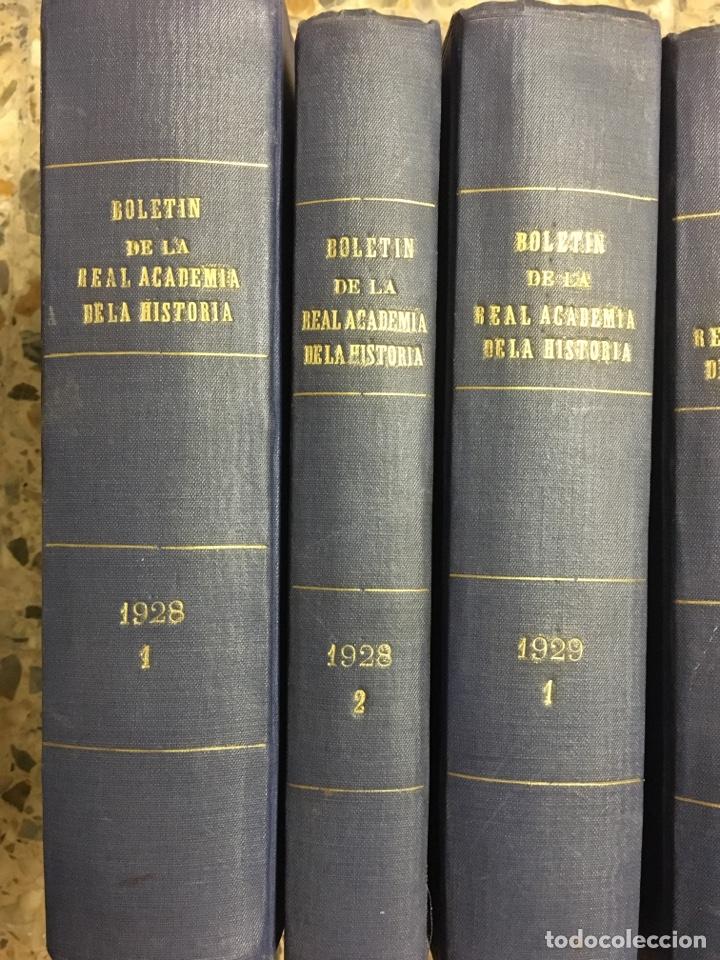 Libros antiguos: Boletín de la real academia de la historia 1929/1933 - Foto 2 - 266934989