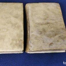 Libros antiguos: LIBRO ANTIGUO COMPENDIO DE HISTORIA DE ESPAÑA POR EL R.P DUCHESNE MAESTRO DE LOS PRINCIPES PERGAMINO. Lote 266994829