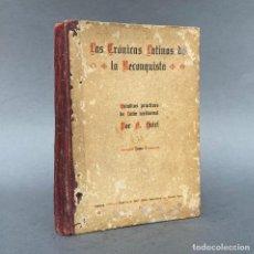 Libri antichi: LAS CRÓNICAS LATINAS DE LA RECONQUISTA. ESTUDIOS PRÁCTICOS DE LATIN MEDIEVAL. Lote 267062449