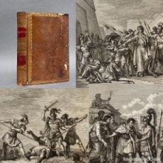 Libri antichi: 1801 - HISTORIA UNIVERSAL - 22 GRABADOS - HISTORIA DE GRECIA - ALEJANDRO MAGNO - PIRRO. Lote 267092254