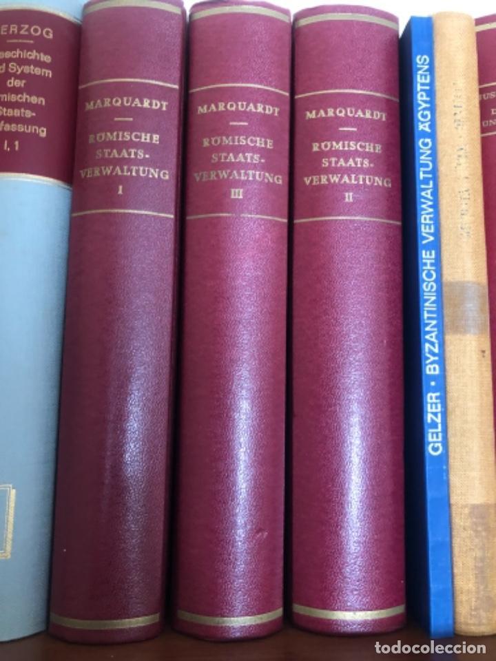 RÖMISCHE STAATSVERWALTUNG MARQUARDT (Libros antiguos (hasta 1936), raros y curiosos - Historia Antigua)