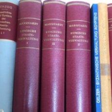 Libros antiguos: RÖMISCHE STAATSVERWALTUNG MARQUARDT. Lote 267337919