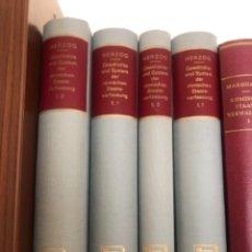 Libros antiguos: GESCHICHTE UND SYSTEM DER RÖMISCHEN STAATSVERFASSUNG HERZOG. Lote 267338149