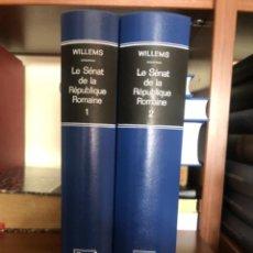 Libri antichi: LE SENAT DE LA REPULIQUE ROMAINE. Lote 267338369
