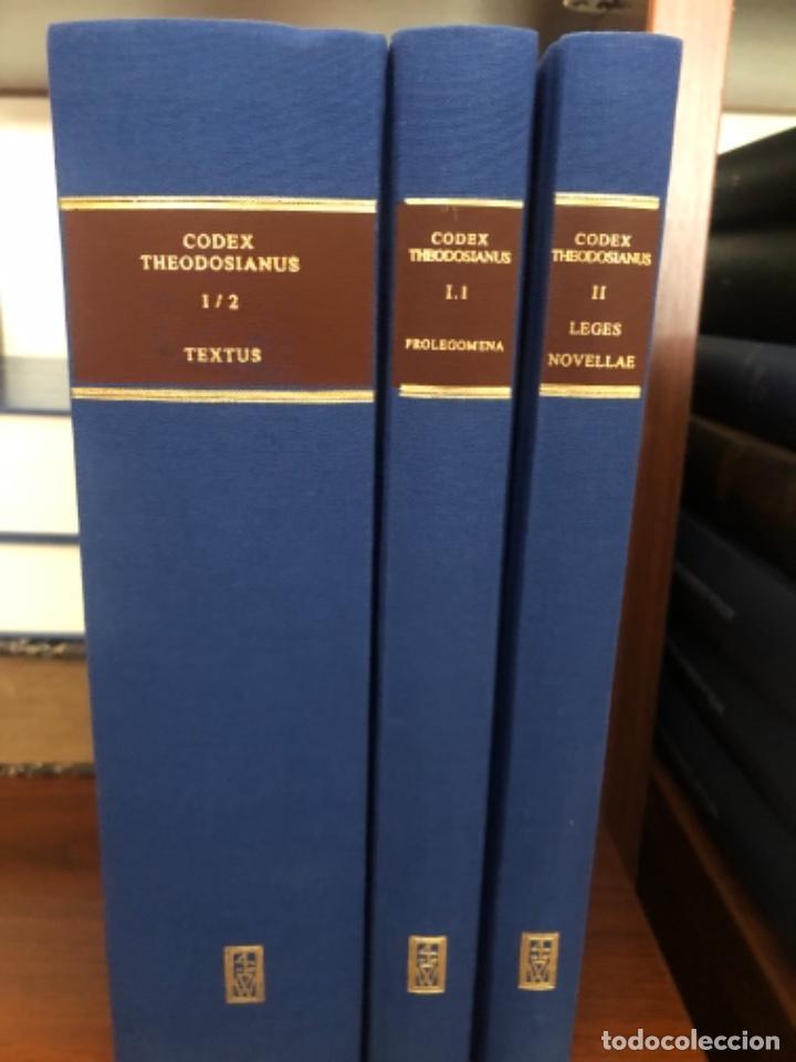 CÓDEX THEODOSIANUS (Libros antiguos (hasta 1936), raros y curiosos - Historia Antigua)