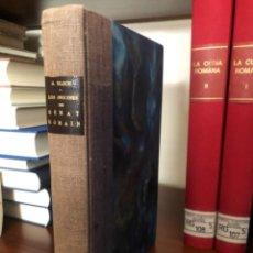 Libros antiguos: LES ORIGINES DU SENAT ROMAIN BLOCH. Lote 267339924