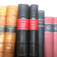 Libros antiguos: INSCRIPTIONS JURIDIQUES GRECQUES DARESTE. Lote 267341344
