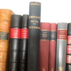 Libros antiguos: JURISTISCHE PAPYRI MEYER. Lote 267341479