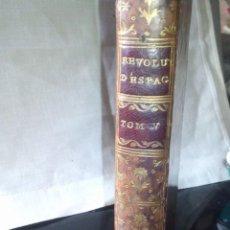 Libros antiguos: ~~~~ HISTOIRE DES REVOLUTIONS D´ESPAGNE, JOSEPH D´ORLEANS COMPANÍA DE JESÚS 1784, MIDE 17X10CM.~~~~. Lote 267375394