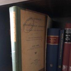 Libros antiguos: LES AASSEMBLEES DE LA CONFEDERATION ACHAIENNE AYMARD. Lote 268809434