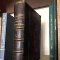 Livros antigos: GRIECHISCHE STAATSALTERHÜMER GILBERT. Lote 268811139