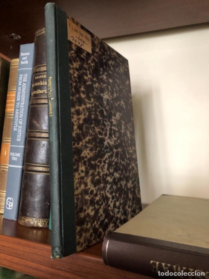 DE CIVIUM ATHENIENSIUM NUNERIBUS EORUMQUE IMMUNITATE THUMSER 1880 (Libros antiguos (hasta 1936), raros y curiosos - Historia Antigua)