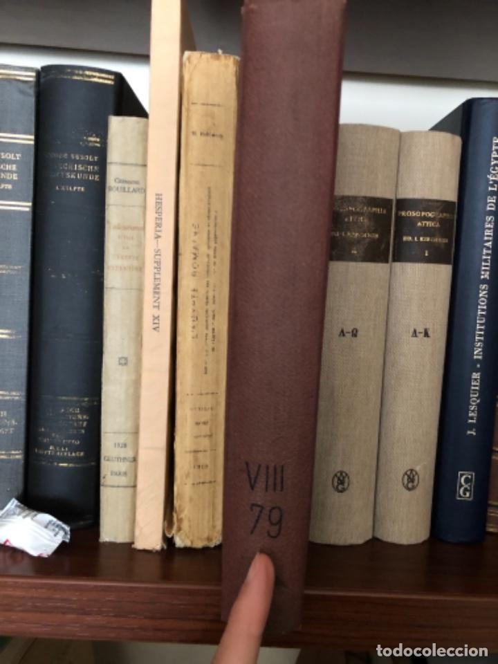 DIE STADTGESCHICHTE VON ATHEN MILCHHOEFER 1891 (Libros antiguos (hasta 1936), raros y curiosos - Historia Antigua)