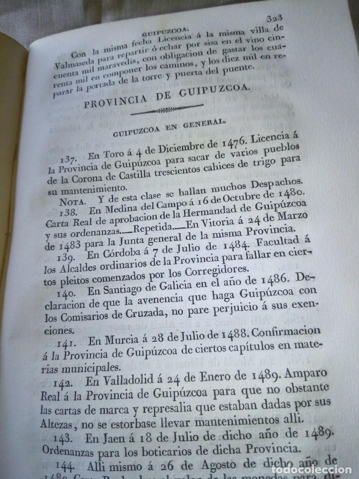 Libros antiguos: ~~~~ CÉDULAS CONCERNIENTES A LAS VASCONGADAS 1830, TOMO IV HERMANDADES DE ALAVA ~~~~ - Foto 9 - 268966979