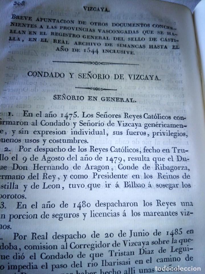 Libros antiguos: ~~~~ CÉDULAS CONCERNIENTES A LAS VASCONGADAS 1830, TOMO IV HERMANDADES DE ALAVA ~~~~ - Foto 11 - 268966979