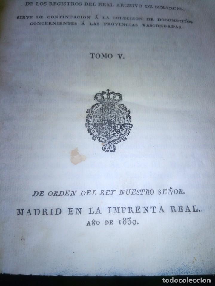 Libros antiguos: ~~~~ PRIVILEGIOS CONCEDIDOS A LA CORONA DE CASTILLA 1830, REGISTROS REAL ARCHIVO DE SIMANCAS ~~~~ - Foto 4 - 268971924
