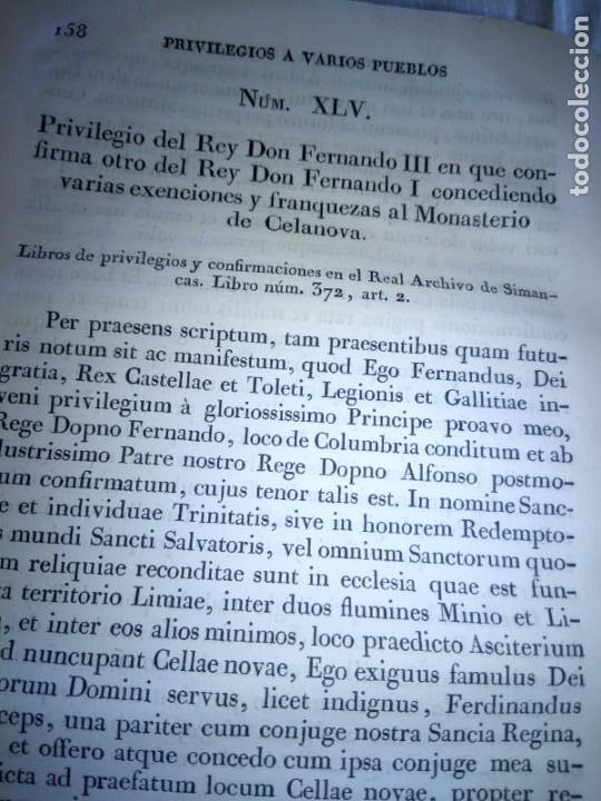 Libros antiguos: ~~~~ PRIVILEGIOS CONCEDIDOS A LA CORONA DE CASTILLA 1830, REGISTROS REAL ARCHIVO DE SIMANCAS ~~~~ - Foto 6 - 268971924