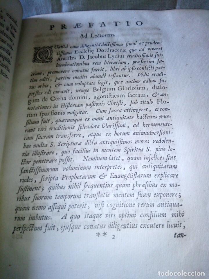 Libros antiguos: ~~~~ JACOBI LYDII, DERE MILITARI SYNTAGMA SACRUM, DE JURE JURANDO 1698 CON GRABADOS Y DESPLEGA ~~~~ - Foto 11 - 268995044