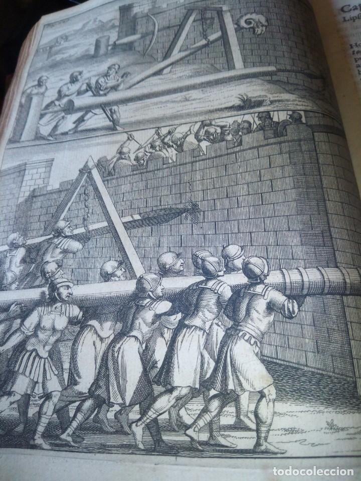 Libros antiguos: ~~~~ JACOBI LYDII, DERE MILITARI SYNTAGMA SACRUM, DE JURE JURANDO 1698 CON GRABADOS Y DESPLEGA ~~~~ - Foto 16 - 268995044