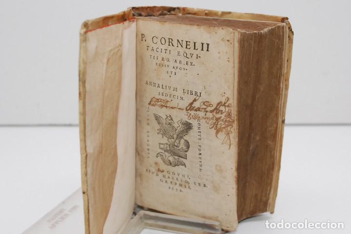 Libros antiguos: TÁCITO - ANALES (HISTORIA DESDE LA MUERTE DE AUGUSTO) 1559 - Foto 5 - 269071083