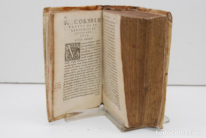 Libros antiguos: TÁCITO - ANALES (HISTORIA DESDE LA MUERTE DE AUGUSTO) 1559 - Foto 7 - 269071083