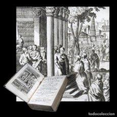 Libros antiguos: AÑO 1731 CICERONIS CARTAS A POMPONIO ÁTICO IMPRESO EN VENECIA GRABADO ANTIGUA ROMA CICERÓN T7. Lote 269176018