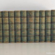 Libros antiguos: HISTORIA UNIVERSAL - CESAR CANTÚ - BIBLIOTECA LUSTRADA DE GASPAR Y ROIG EDITORES - COMPLETA - 1875. Lote 269448328