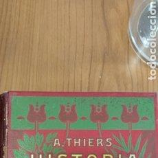 Libros antiguos: HISTORIA DE LA REVOLUCIÓN FRANCESA A.THIERS 2.TOMOS. Lote 272570248